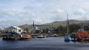Harbour of Girvan by UdoChristmann