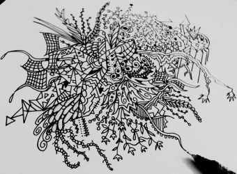 Doodle Spaghetti by corpseandCo
