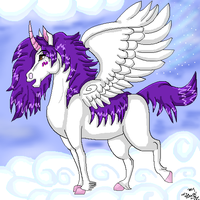 Dreamter in the clouds by dragonrace