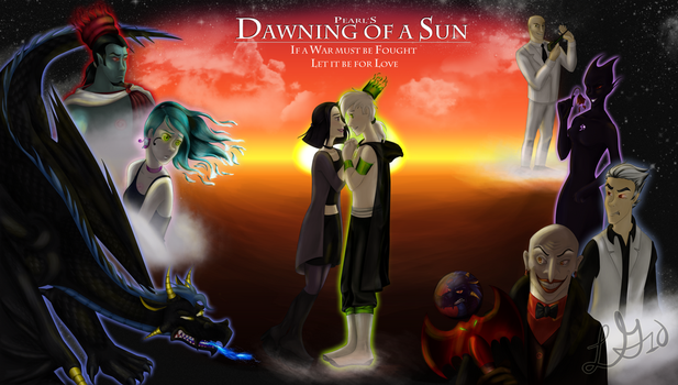 Dawning of a Sun by dgLari