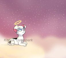 At peace in the clouds by KHwhitelion