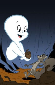 Casper the Friendly Ghost by toonbaboon