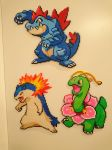 Pokemon #4 - Typhlosion (redone) by MagicPearls