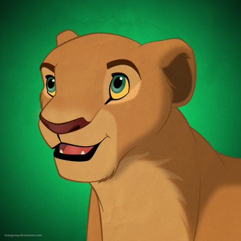Disney Ladies: Nala by Mangsney