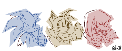 The Primary Color Guys by SootToon