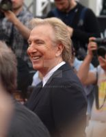Alan Rickman Deathly Hallows Premiere by Gem90