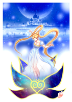 Sailor Moon  - Princess Serenity by OathBinder123