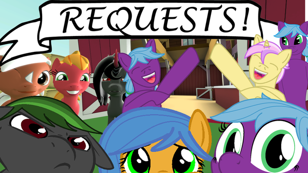 Taking Requests! by KendraCrest