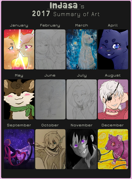 2017 Summary of Art by Indasa