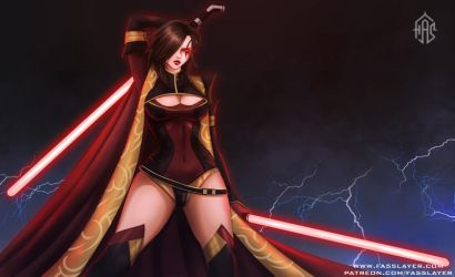 Commission - Sith by FASSLAYER