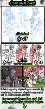 Pavagat Commission Sheet! by Pavagat