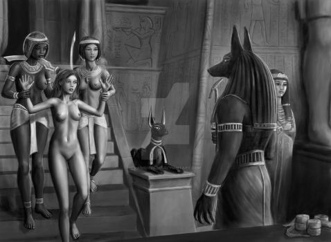 Anubis Interim Scene by dashinvaine