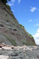 Gypsum and strata by CAStock