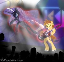 Show Must Go on! - Nightmare Rarity Commision by LaurentChokobita