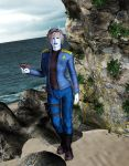 Andorian Captain by MADMANMIKE