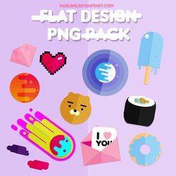 Flat Design Pack by mabling