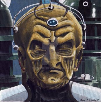 Davros portrait by Marc137