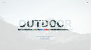 Outdoor OnePage Responsive Template by Itembridge