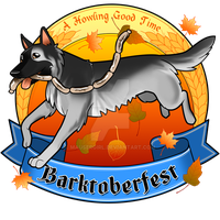 Commission - Barktoberfest by MauserGirl