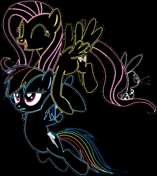 Messing with Paint by Moonstone436