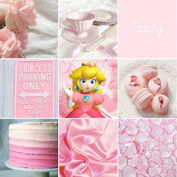 Princess Peach Aesthetic Board by Gay-Mage-Of-Space