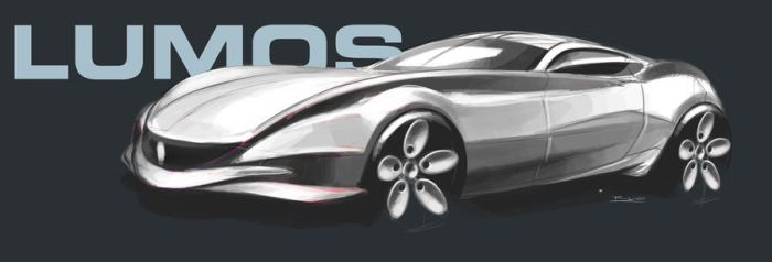 Lumos Sports car concept by PPLBLISS