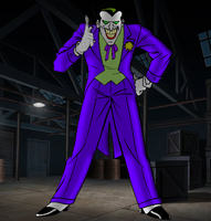 Joker V1 (Batman TAS) by DJ7493