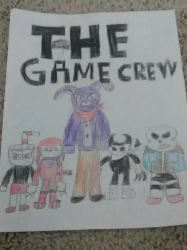 THE GAME CREW (POSTER) by KeithTate12