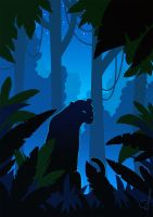 Deep In The Jungle by OGARart