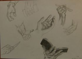 hand sketches 2 by minihumanoid