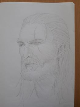 Geralt of Rivia by Joze17