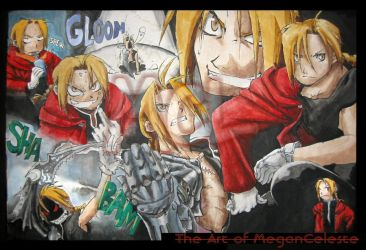 Edward Elric montage by LilithVallin