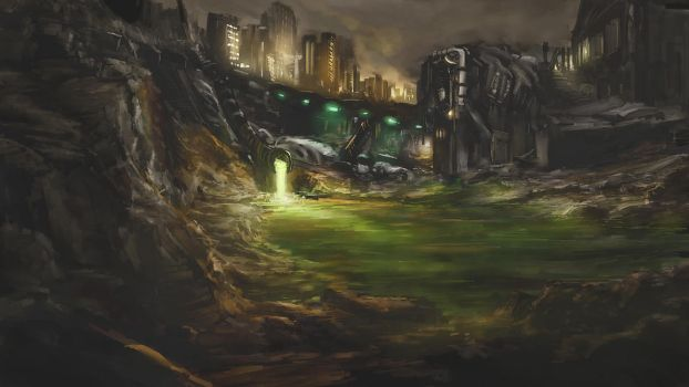 Toxic Canal by Alexlinde