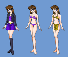Sophia outfits by Dinalfos5