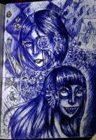 Joker and the Queen of Hearts by Ircuz