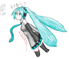 Miku Hatsune_By_TomateCannibal by tomatecannibal