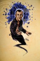 Christopher Eccleston as DOCTOR WHO by hoganvibe