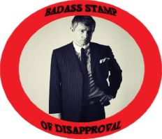 Martin Freeman's 'Badass Stamp Of Disapproval' by Juliapopstar