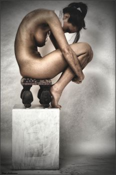 Crouching Nude by stanjan257