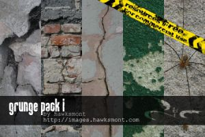 Grunge Pack I by hawksmont