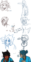 CA - iScribble Sketch Dump by jokerful