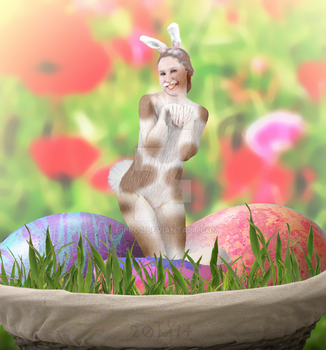 The Easter Bunny by hippo2