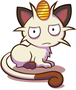 Elvereth's meowth by AndrePaz
