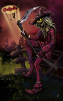 the Scarecrow by Klar-Jezebeth