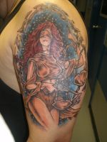 Lady Justice Tattoo by ShannonRitchie
