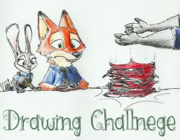 Week 11 Zootopia challenge by Steampoweredfoxes