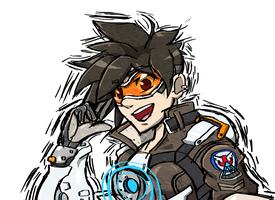Tracer Doodle 2 by Hawke525