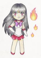 Sailor mars chibi by darkminako1