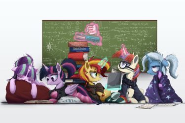 Study Up. Study Hard. by NCMares