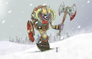 Undead Viking by RCoffee
